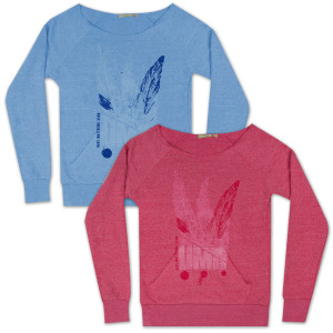 DMB Womens Feather Flashdance