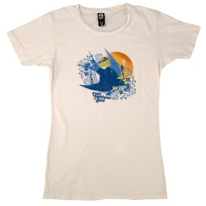 DMB Women's Natural Bird Shirt