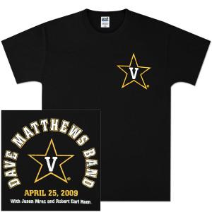 DMB Vanderbilt Event Shirt