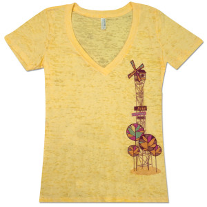 DMB Ladies Windmill Burnout T-Shirt