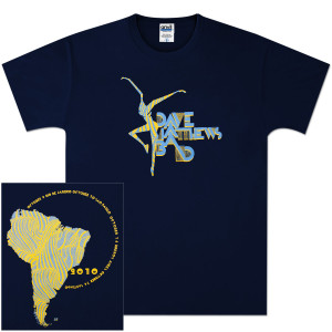 DMB 2010 South American Tour Shirt