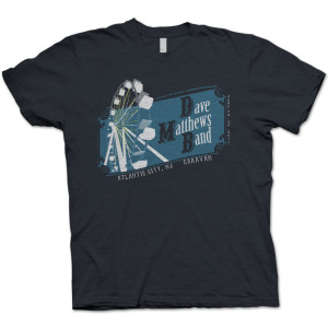 DMB Atlantic City Caravan T-Shirt