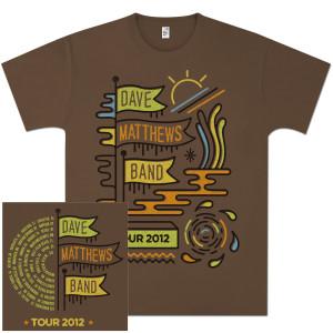 DMB 2012 Summer Tour T-Shirt