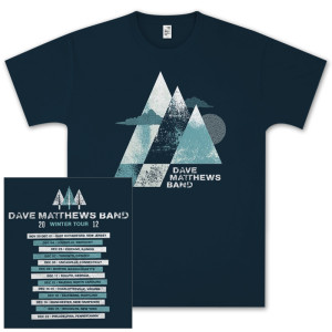 DMB 2012 Winter Tour Tee