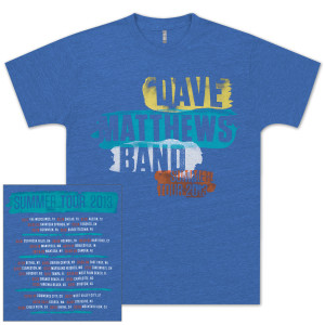 DMB 2013 Tour Shirt