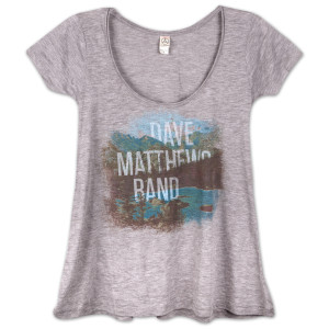 DMB 2013 Ladies Landscape Drape Shirt