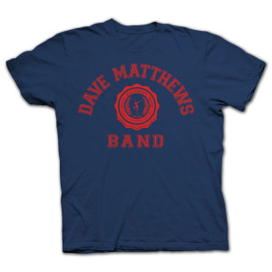 DMB 2014 Collegiate Tee Navy/Red