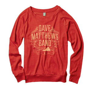 DMB Ladies Slouchy Crewneck Sweatshirt