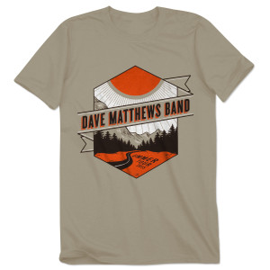 DMB 2015 Summer Tour T-shirt – EXCLUSIVE