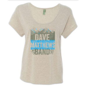 DMB - Ladies Earth Day Dreamer Tee