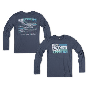DMB Long Sleeve Tour Tee 2015
