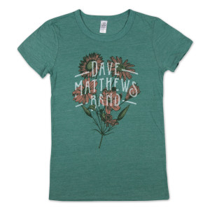DMB Ladies Green Tee