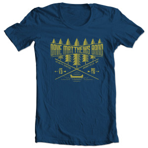 DMB Event T-shirt - Mansfield, MA 6/13/2015