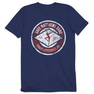 DMB Charlottesville Fire Dancer T-shirt