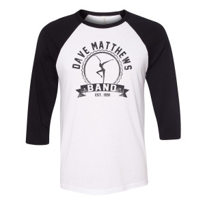 DMB Firedancer Baseball Tee