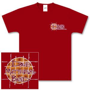DMB Red Brick Fireball Shirt