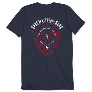 DMB Event T-shirt – Dallas, TX