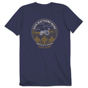 DMB Event T-shirt Noblesville