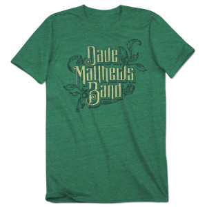Dave Matthews Band Green Tri-blend
