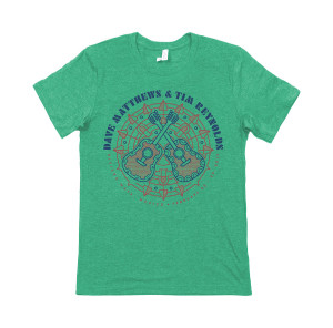 Youth Dave and Tim Guitar Mandala Tee