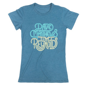 Dave & Tim Women's Locking Text Tee