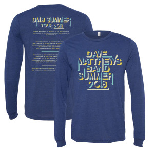 2018 Tour Long Sleeve T-Shirt
