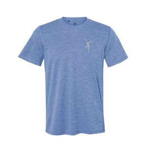 Reflective Firedancer Adidas Sport Shirt - Blue