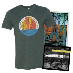 Live Trax Vol. 49 +  Foil Poster +  T-shirt Bundle
