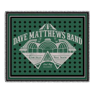 DMB Live Trax Vol. 36 Throw Blanket