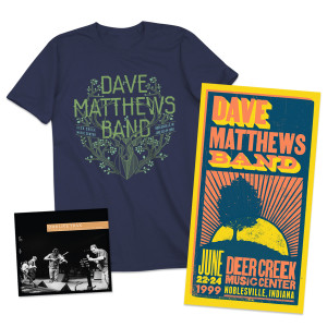 DMB Live Trax 34: CD + Tee + Poster Bundle
