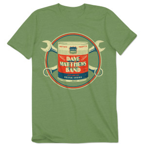 Dave Matthews Band 2014 Bristow Event T-shirt