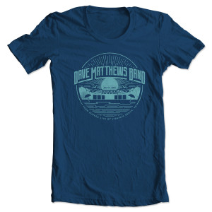DMB Event T-shirt - Virginia Beach, VA 7/11/2015