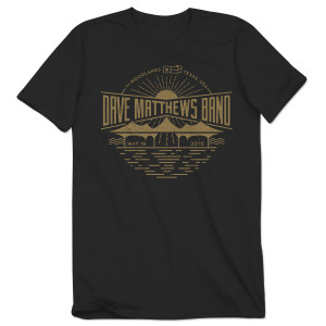 DMB Event T-shirt - The Woodlands, TX 5/16/2015