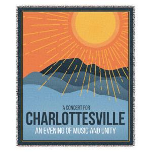 Concert for Charlottesville Blanket