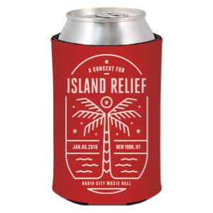 Concert for Island Relief Koozie