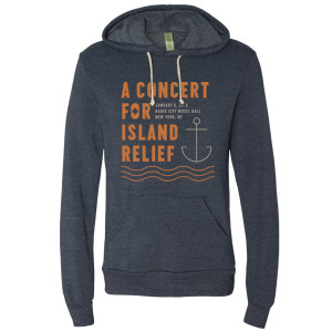 Concert for Island Relief Hooded Pullover