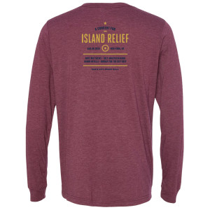 Concert for Island Relief Palm Tree Long Sleeve