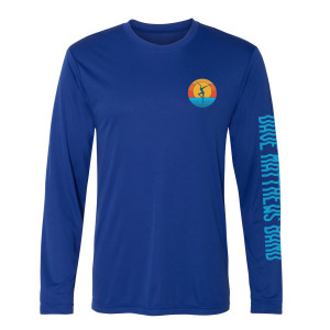 Firedancer Long Sleeve Sun Shirt Blue