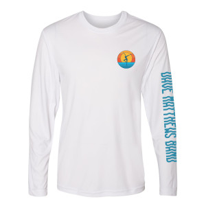 Firedancer Long Sleeve Sun Shirt White