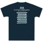 DMB 2012 Winter Tour Tee