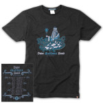 DMB 2012 Winter Tour Dates T-Shirt