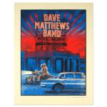 DMB Show Poster –  Tulsa, Oklahoma 5/21/2014