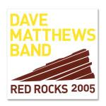 DMB Red Red Rocks 2005 Sticker