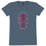 DMB Dancer in Guitar Ladies T-Shirt