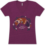 DMB Ladies Fox V-Neck Shirt