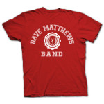 DMB 2014 Collegiate Tee Red/White