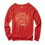 DMB Ladies Slouchy Crewneck Sweatshirt
