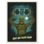 DMB Show Poster –  Jacksonville, FL 7/15/2014