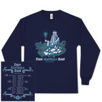 DMB 2012 Winter Tour Dates Long-Sleeve T-Shirt