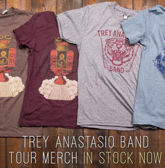 Trey Anastasio Bane Merchandise